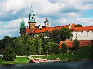 Wawel - widok z Mostu Dębnickiego