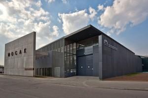 muzeum sztuki współczesnej - widok z zewnątrz